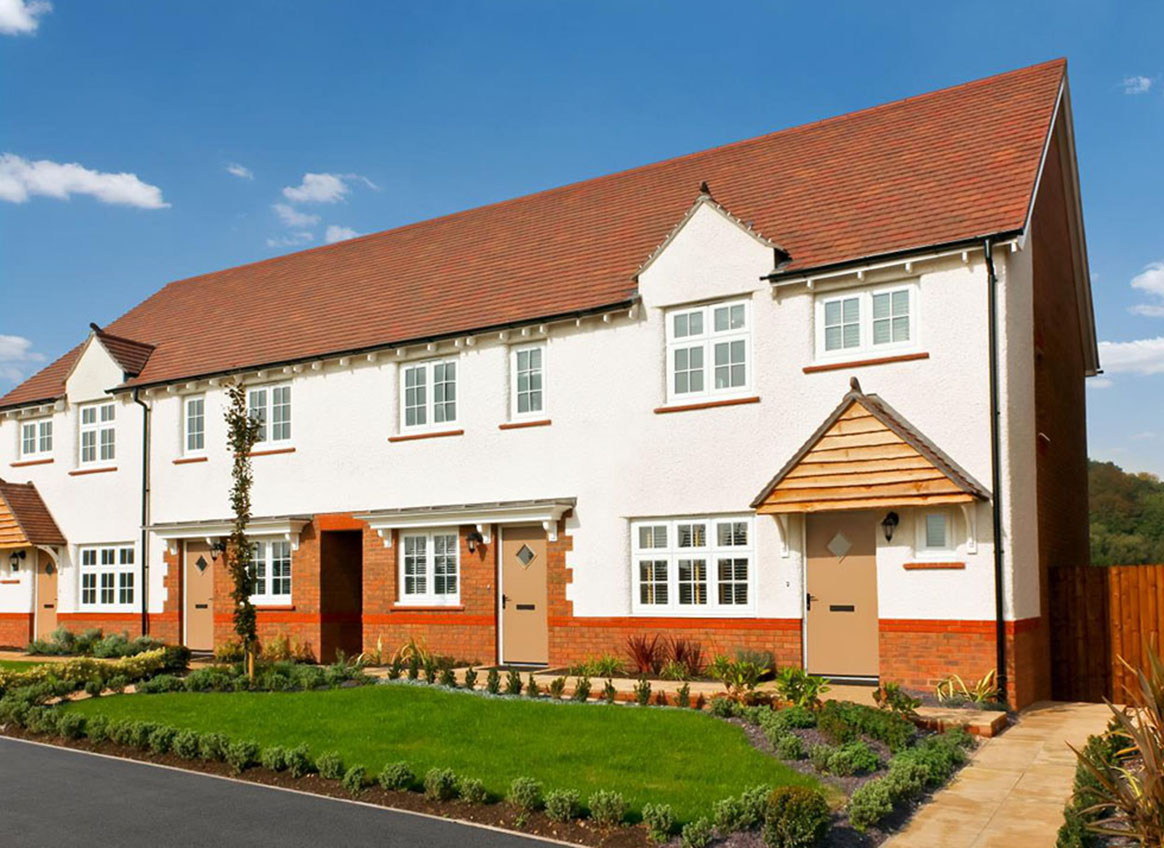 New Build Homes at Broadway in in Poulton-le-Fylde