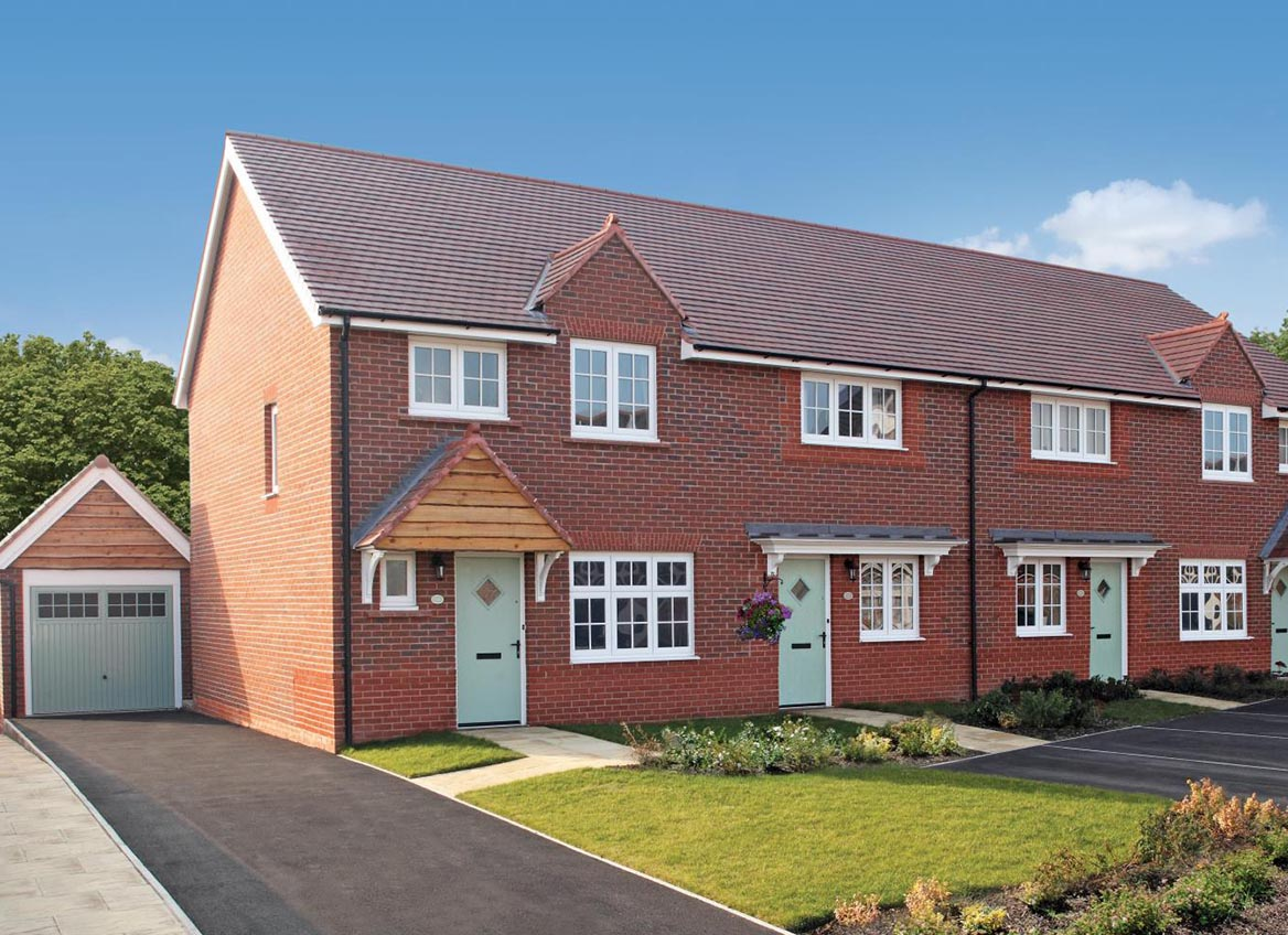 New Build Homes at Evesham 3 in in Poulton-le-Fylde