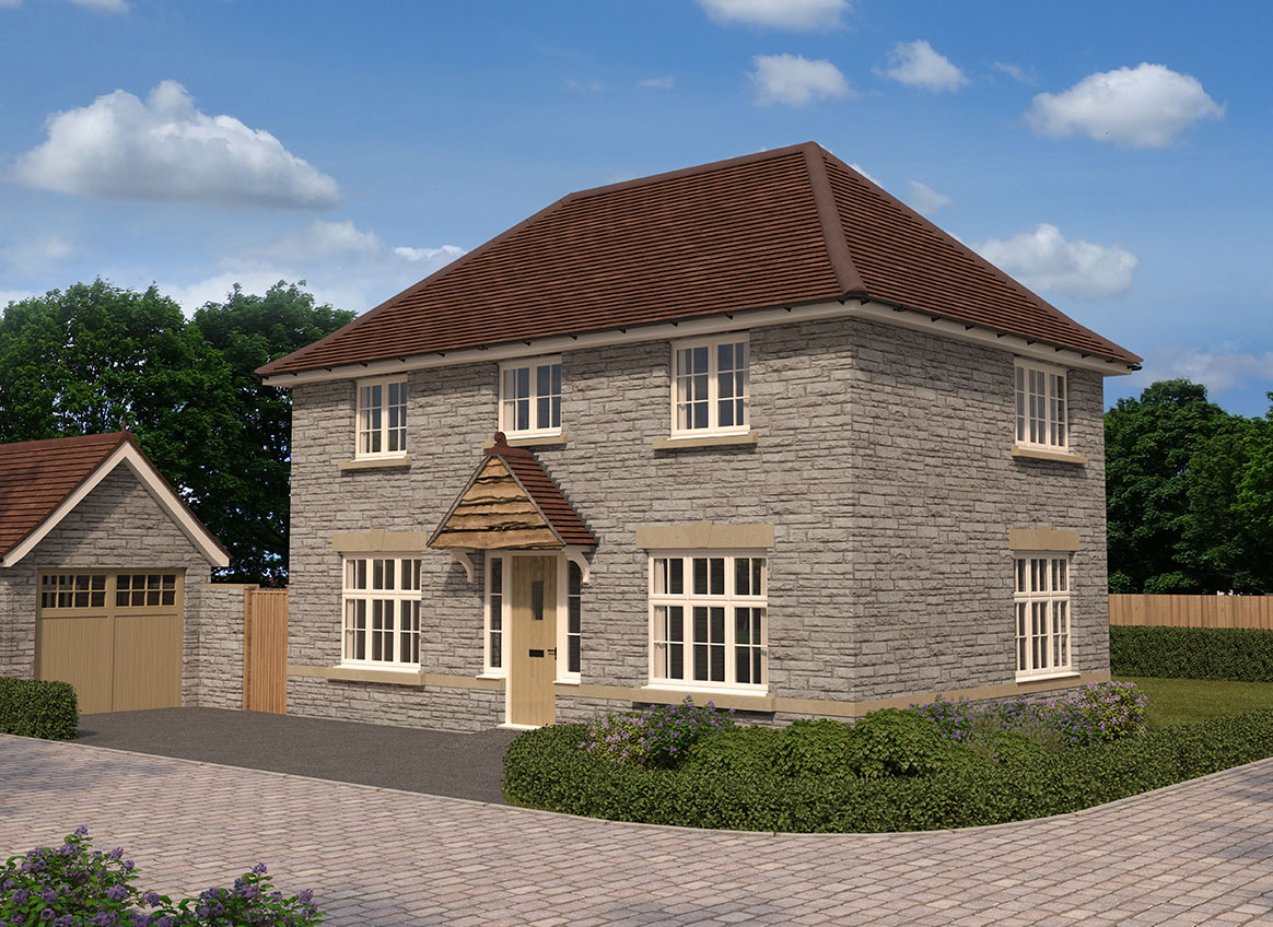 Glenwood park barnstaple in barnstaple ex31 3ge by redrow for Chalet style homes for sale