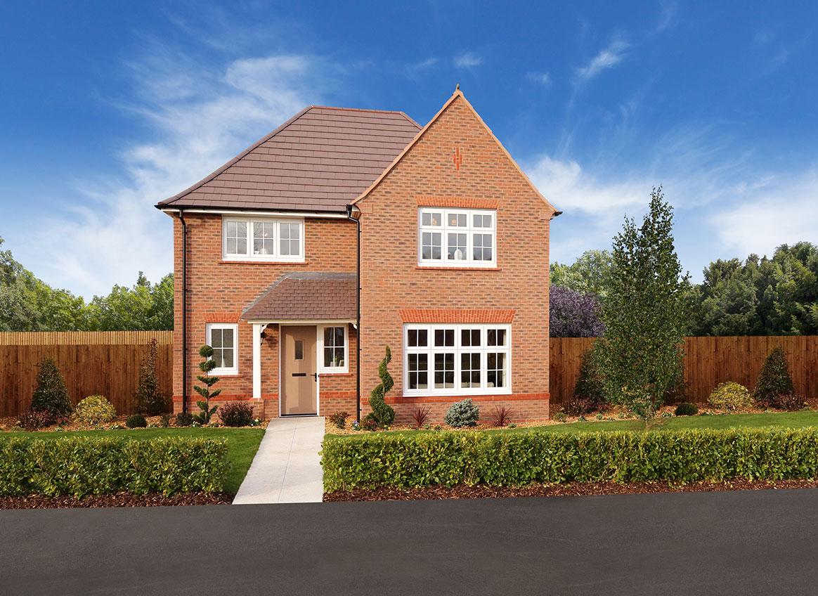 New Build Homes at Cambridge in in Poulton-le-Fylde