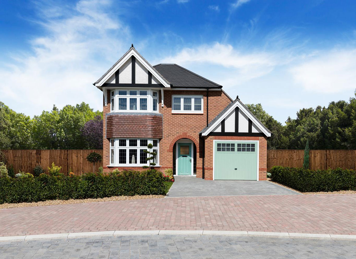 New Build Homes at Worcester in in Poulton-le-Fylde