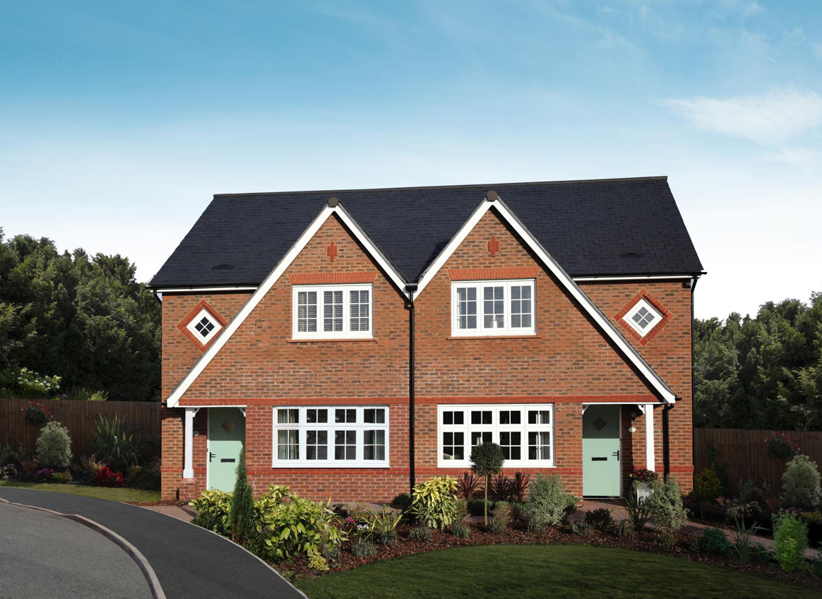 Pennine grange tamworth tamworth b77 4jf redrow for New build 4 bed house