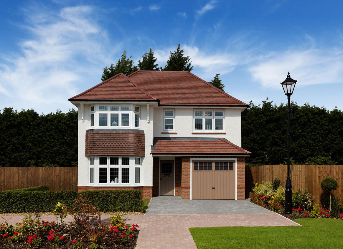 Woodford garden village woodford sk7 1qp redrow for New four bedroom houses